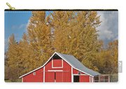 Red Barn And Fall Colors Carry-all Pouch