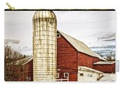 Red Barn And Silo Vermont Carry-all Pouch