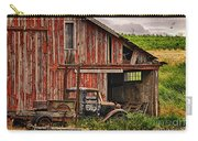 Red Barn And Truck In The Palouse Carry-all Pouch