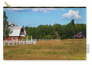 Red Barn In Meadow, Knowlton, Quebec Carry-all Pouch