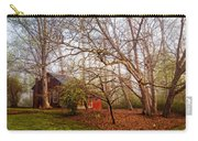 Red Barn In The Smokies Carry-all Pouch
