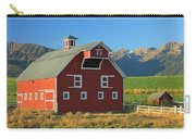 Dn5939-red Barn In The Wallowas Carry-all Pouch