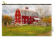 Red Barn In Woodstock Vermont- Red Barn Art Carry-all Pouch