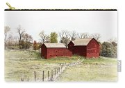 Red Barn Carry-all Pouch by Marcia Colelli