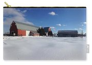 Red Barn Series Feat. Snow Carry-all Pouch