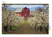 Red Barn Spring Carry-all Pouch by Mike  Dawson