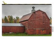 Red Barn With Fall Colors Carry-all Pouch
