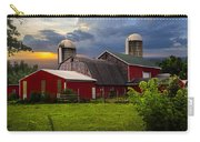 Red Barns Carry-all Pouch