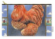 Red Baron Rooster Carry-all Pouch