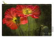 Red Beauties In The Field Carry-all Pouch