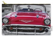 Red Belair At The Beach Standard 11x14 Carry-all Pouch