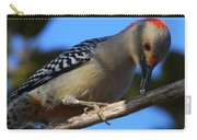 Red-bellied Woodpecker Catching Grub Carry-all Pouch