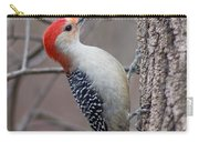 Red Bellied Woodpecker Pose Carry-all Pouch
