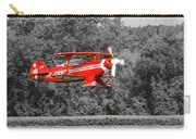 Red Biplane Carry-all Pouch