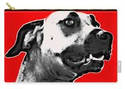 Red Blooded Scooby Dog Carry-all Pouch
