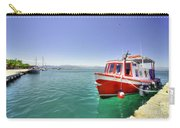 Red Boat At Nafplion Harbour Carry-all Pouch