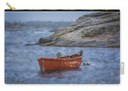 Red Boat In Peggy's Cove Carry-all Pouch