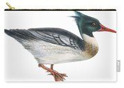Red-breasted Merganser Carry-all Pouch by Anonymous