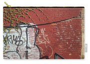 Red Brick Graffiti Carry-all Pouch