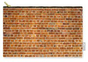 Red Brick Wall Texture Carry-all Pouch