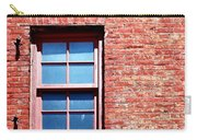 Red Brick Window Carry-all Pouch