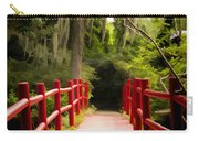 Red Bridge In Southern Plantation Carry-all Pouch