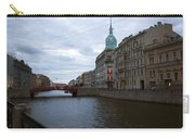 Red Bridge View - St. Petersburg - Russia Carry-all Pouch