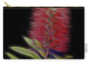 Red Brush Glow Carry-all Pouch