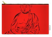 Red Buddha Carry-all Pouch