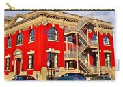 Red Building On Water Street In Saint John's-nl Carry-all Pouch