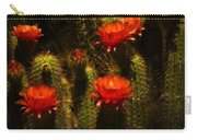 Red Cactus Flowers II  Carry-all Pouch