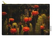 Red Cactus Flowers  Carry-all Pouch