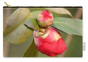 Red Camelia Buds Carry-all Pouch