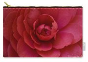 Red Camellia Carry-all Pouch