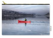 Red Canoe Carry-all Pouch by Adrian Evans