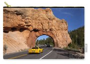 Red Canyon Near Bryce Canyon In Utah Carry-all Pouch