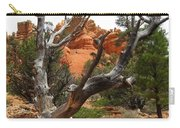 Red Canyon Tree And Rocks Carry-all Pouch