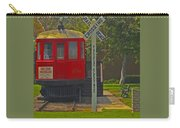 Red Car Museum In Seal Beach Ca Carry-all Pouch