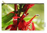 Red Cardinal Flower Carry-all Pouch