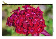 Red Carnations Carry-all Pouch by Omaste Witkowski