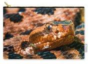 Red Carolina Pygmy Rattlesnake Carry-all Pouch