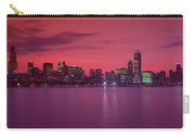 Red Chicago Sunset Carry-all Pouch