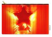 Red Christmas Star Carry-all Pouch