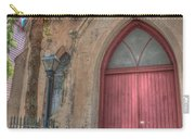 Red Church Door Carry-all Pouch