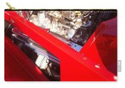 Red Classic Car Engine 2 Carry-all Pouch
