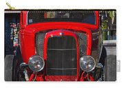 Red Classic Hotrod Carry-all Pouch
