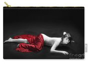 Red Cloth Nude 1 Carry-all Pouch
