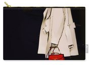 Red Clutch Carry-all Pouch