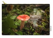 Red Coral Mushroom Carry-all Pouch