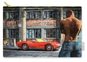 Red Corvette Carry-all Pouch by Bob Orsillo